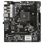 Дънна платка ASRock AB350M, B350, AM4, DDR4, PCI-E, 4 x SATA 6Gb/s, 6 x USB 3.1 Gen1, Micro ATX image