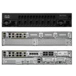 Рутер Cisco ISR 4451, 4х 10/100/1000Base-T WAN, 72x 10/100/1000Base-T, 4x SFP, 3x NIM, 1x ISC, 4GB DRAM, 4GB памет image
