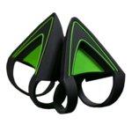 Уши за слушалки Razer Kitty Ears за Razer Kraken - Green, зелени/черни image