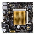 Дънна платка Asus J1800I-C/CSM, вграден двуядрен Intel Celeron J1800 2.41/2.58GHz, DDR3L SO-DIMM, PCIe 2.0 x1(HDMI), 2x SATA 3Gb/s, 1x USB 3.1 Gen1, 4x USB 2.0, miniITX image
