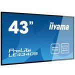 "Публичен Дисплей Iiyama Prolite LE4340S-B1, 43""(109.22 cm) AMVA3 панел, Full HD, 8ms, 3 000:1, 350 cd/m2, HDMI, DVI, VGA image"