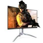 """Монитор AOC AG273QCX, 27"""" (68.6 cm) VA панел, QHD, 1ms, 50000000:1, 400 cd/m2, HDMI, DisplayPort, VGA image"""