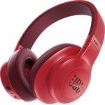 Слушалки JBL E55BT, безжични, микрофон, до 20 часа работа, червени image