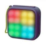 Тонколона Energy Beat Box 2+ Lightcube Amethyst, 1.0, Bluetooth до 6 часа време за работа, лилава, микрофон, LED подсветки image