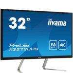 "Монитор Iiyama Prolite X3272UHS-B1, 31.5""(80.01 cm) VA панел, UHD, 3ms, 50 000000 : 1, 300 cd/m2, HDMI, DisplayPort image"