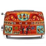 Тостер SMEG TSF01DGEU Sicily is my Love!, 2 филии, автоматично изключване, 950W, многоцветен image