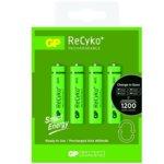Акумулаторна батерия GP Batteries R03, AAA, 400mAh, 1.2V, RECYKO, NiMH, 4 бр. image
