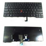 Клавиатура за Lenovo Thinkpad, съвместима със серия T440 T440P T440S L440 series Черна с Черна Рамка image