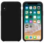 Калъф за Apple iPhone XR, силиконов, Soft touch, черен image
