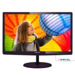 "Монитор 21.5"" (54.61 cm) Philips E Line 227E6LDSD, TFT-LCD панел, Full HD, 1ms, 20 000 000:1, 250 cd/m², HDMI, DVI image"