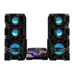 Аудио система Panasonic SC-MAX7000EK, 2.0, 3000W RMS, DJ Sampling Maker, MAX DJ Effect, AIRQUAKE BASS, Външен 30 см свръхнискочестотен говорител, Еквалайзер, NFS, Bluetooth image