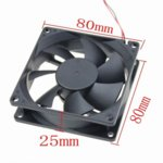 Вентилатор 80 mm 3 Digital One Globe Fan, 3-пинов, 2500rpm image