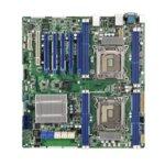 Дънна платка за сървър ASRock Rack EP2C602, LGA2011, DDR3 R/LR ECC and UDIMM, 3x LAN1000, 2x SATA 6Gb/s, 8x SATA 3Gb/s, 4x SATA 6Gb/s, RAID 0, 1, 5, 10, RAID 0, 1, 10, 2x USB 2.0, SSI EEB  image
