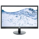 "Монитор AOC e2470Swhe, 23.6"" (59.94 cm) TN панел, Full HD, 5ms, 20 000 000:1, 250cd/m2, 2x HDMI, 1x VGA image"