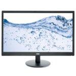 """Монитор AOC e2470Swhe, 23.6"""" (59.94 cm) TN панел, Full HD, 5ms, 20 000 000:1, 250cd/m2, 2x HDMI, 1x VGA image"""