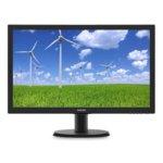 """Монитор Philips 243S5LDAB, 24""""(60.96 cm) TFT-LCD панел, Full HD, 1ms, 10000000:1, 250 cd/m2, VGA, DVI-D, HDMI image"""