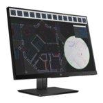"""Монитор HP Z24i G2(1JS08A4), 24""""(60.96 cm) IPS панел, WUXGA, 5ms, 10 000 000:1, 300 cd/m2, Display Port, HDMI, D-Sub, 3x USB 3.0 image"""