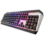 Клавиатура Cougar ATTACK X3 RGB, гейминг, full key backlight (16.8 million colors), черен/сребрист, USB image