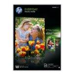 Фотохартия HP Everyday Glossy Photo Paper, A4, матова, 200 g/m2, 25 листа image