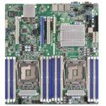 Дънна платка за сървър ASRock Rack EP2C612D16NM, 2x LGA2011 R3, поддържа DDR4 LRDIMM/RDIMM, 2x LAN1000, 1x IPMI LAN port, 10x SATA3 6.0Gb/s(RAID 0/1/5/10), 2x USB 3.0, SSI EEB image
