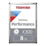 Toshiba 8TB X300 HDWR180UZSVA