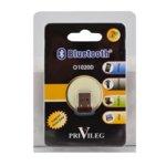 Адаптер PRIVILEG O1020d, USB, Bluetooth V2.0, до 3Mbps, обхват до 100м, черен image
