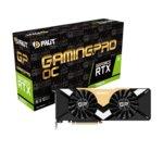 Видео карта Nvidia GeForce RTX 2080 Ti, 11GB, Palit RTX GamingPro OC, PCI-E 3.0, GDDR6, 352 bit, 3x Display Port, 1x HDMI, 1x USB Type C, Real-Time Ray Tracing технология, RGB подсветка image