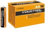 Батерия алкална Duracell Industrial, AA, 1.5V, 10 бр. image
