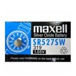 Батерия сребърна Maxell SR, SR527SW, 1.55V, 1 бр.  image