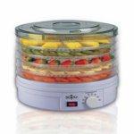 Сушилня за плодове и зеленчуци Sapir SP 1451 A5, 250W, 35°C-70°C, 5 нива, подходяща за гъби, месо и билки, Бял image