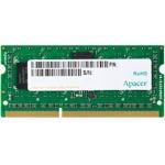 4GB DDR3 1600MHz, SODIMM, Apacer, 1.35V