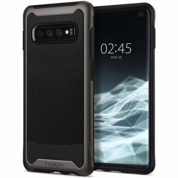 Калъф за Samsung Galaxy S10, хибриден, Spigen Hybrid NX 605CS25662, удароустойчив, тъмносив image