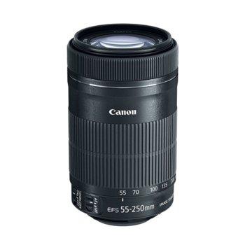 Обектив Canon EF-S 55-250mm f/4-5.6 IS STM image