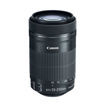 Обектив Canon EF-S 55-250mm f/4-5.6 IS STM image