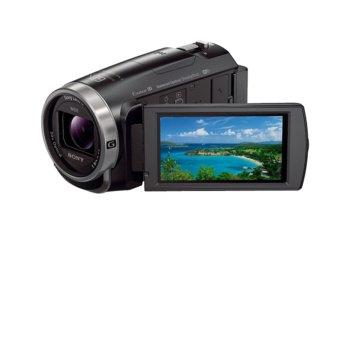 """Видеокамера Sony HDR-CX625, Full HD, 3.0"""" (7.5 cm) Clear Photo LCD, 30x oптично увеличение, Micro HDMI, Micro USB, Wi-Fi, черна image"""