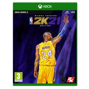 NBA 2K21 Mamba Forever Edition Xbox Series X product