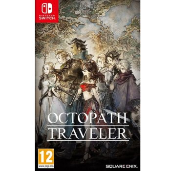 Игра за конзола Octopath Traveler, за Nintendo Switch image
