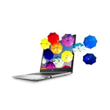 "Лаптоп Dell Inspiron 17 5770 (DI5770I37020U4G1TUMA_UBU-14)(сребрист), двуядрен Kaby Lake Intel Core i3-7020U 2.30 GHz, 17.3"" (43.94 cm) Full HD Anti-Glare Display, (HDMI), 4GB DDR4, 1TB HDD, 2x USB 3.1, Linux, 2.79 kg image"