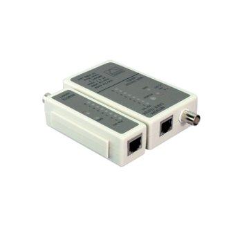 Тестер за кабели LogiLink WZ0011, за RJ11/RJ12/RJ45 и BNC кабели image