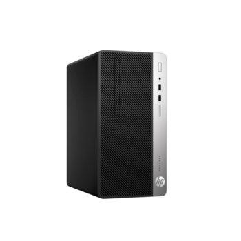Настолен компютър HP ProDesk 400 G6 MT (7EL81EA), осемядрен Coffee Lake Intel Core i7-9700 3.0/4.7 GHz, 8GB DDR4, 256GB SSD, 4x USB 3.1, клавиатура и мишка, Windows 10 Pro image