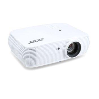Проектор Acer P5330W, DLP, WXGA (1280x800), 20 000:1, 4500 lm, 2x HDMI, 2x VGA, 1x USB A, RJ-45, RS-232 image