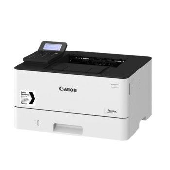 Лазерен принтер Canon i-SENSYS LBP226dw, монохромен, 600 x 600 dpi, 38 стр/мин, LAN, Wi-Fi, А4 image