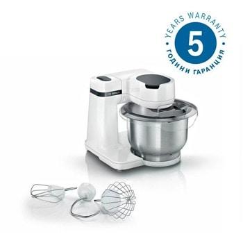 Кухненски робот Bosch MUMS2EW00, 700W, 3.8 л. купа, 4 скорости, бял image