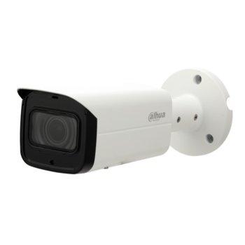 "IP камера Dahua IPC-HFW2431T-ZS-27135, насочена ""bullet"", 4 МPixel (4MP (2688x1520)/20FPS), 2.7-13.5mm/F1.4 обектив, Video compression H.265+, H.264, H.264+/H.264/MJPEG, IR осветеност (до 60m), външна IP67, PoE+, RJ-45 image"