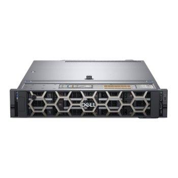 Сървър Dell PowerEdge R540 (#DELL02573), шестнадесетядрен Cascade Lake Intel Xeon Silver 4216 2.1/3.2 GHz, 16GB DDR4 RDIMM, 480GB SSD, 2x GbE LOM, 3x USB 3.0, без OS, 750W image
