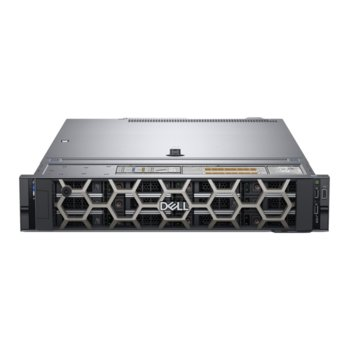 Сървър Dell PowerEdge R540 (#DELL02573), шестнадесетядрен Cascade Lake Intel Xeon Silver 4216 2.1/3.2 GHz, 16GB DDR4 RDIMM, 480GB SSD, 2x GbE LOM, 3x USB 3.0, без OS, 750W image