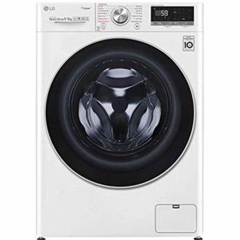 Пералня със сушилня LG F4DV709H1, клас A, 9 кг. капацитет на пералня/ 6 кг. на сушилня, 1400 оборота, 14 програми, 15 бр. допълнителни опции, свободностояща, 60 cm ширина, бяла image