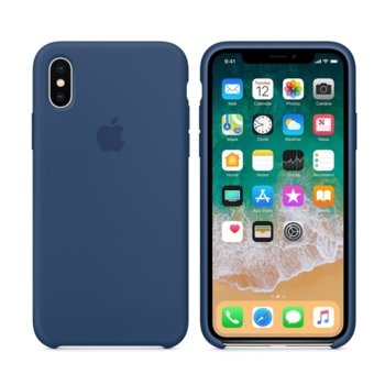 Apple iPhone X Silicone Case - Blue Cobalt product