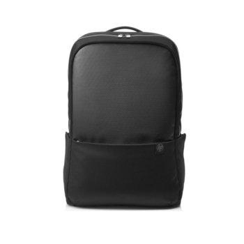 """Раница за лаптоп HP Duotone Slvr Backpack, до 15.6"""" (39.62 cm), полиестер, черна/сребриста image"""