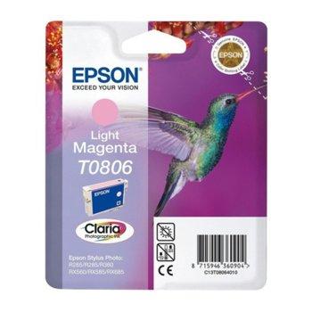 ГЛАВА ЗА EPSON STYLUS PHOTO R 265/R285/R360/RX560 - Light magenta - P№ C13T08064010 image